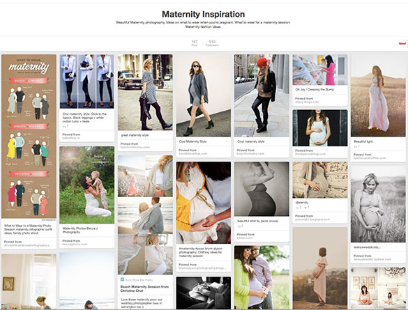MaternityPinterestBoard